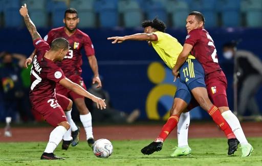 Colombia se desvaneció ante una luchadora Venezuela que saboreó un empate sin goles
