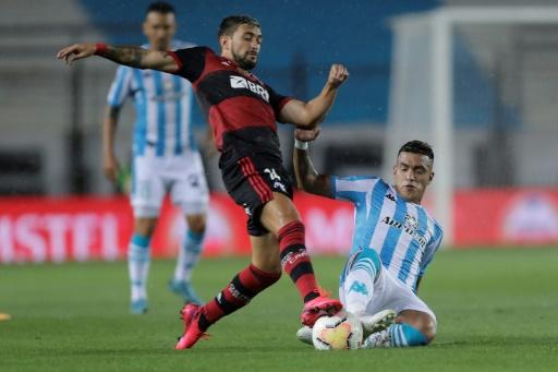 Flamengo rescató un empate 1-1 ante Racing en la Libertadores
