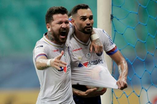 Bahia derrota 1-0 a un osado Unión en la ida de octavos de Sudamericana