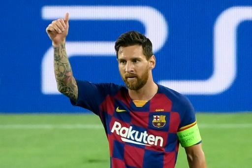 Messi contra la apisonadora del Bayern