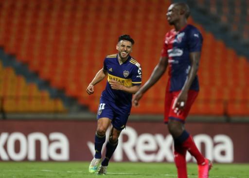 Boca gana 1-0 al Independiente Medellín a domicilio y lo elimina de la Libertadores