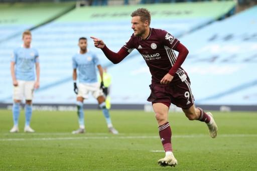 Vardy y el Leicester destrozan al City de Guardiola
