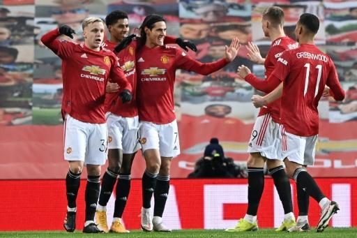 Manchester United bate 3-2 al Liverpool y avanza a octavos de Copa
