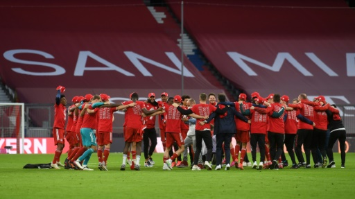 Bayern Múnich se corona en la Bundesliga por noveno año consecutivo