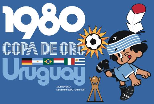 La Copa de Oro se jugó por única vez en Uruguay en 1980