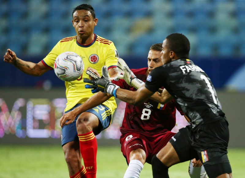 Venezuela rescata empate 0-0 con Colombia en Copa América gracias al portero Faríñez