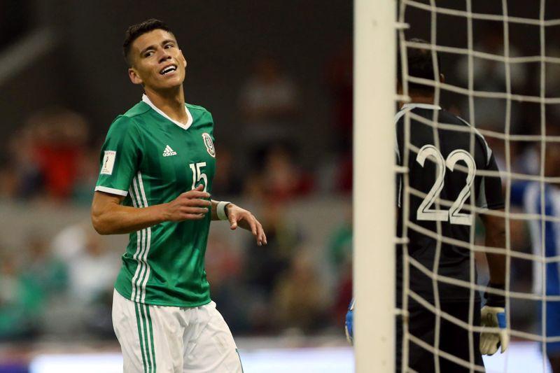 Moreno estará fuera de canchas por dos semanas tras lesión con selección México en Copa Oro