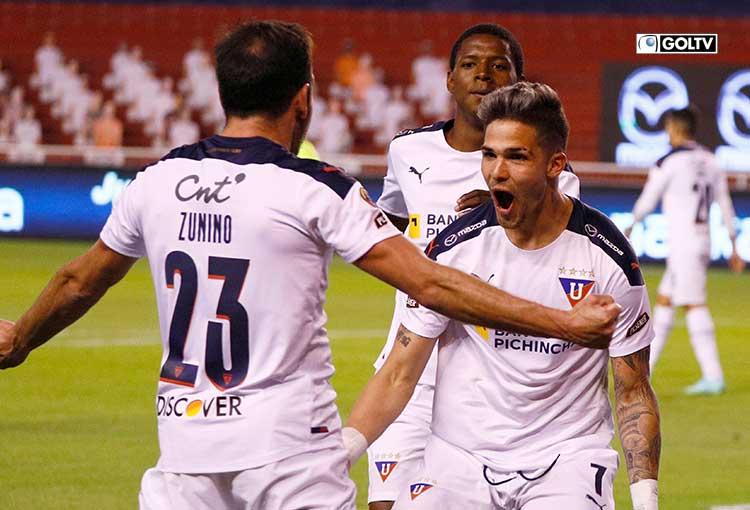 LDU goleó a Olmedo en el cierre de la fecha 2