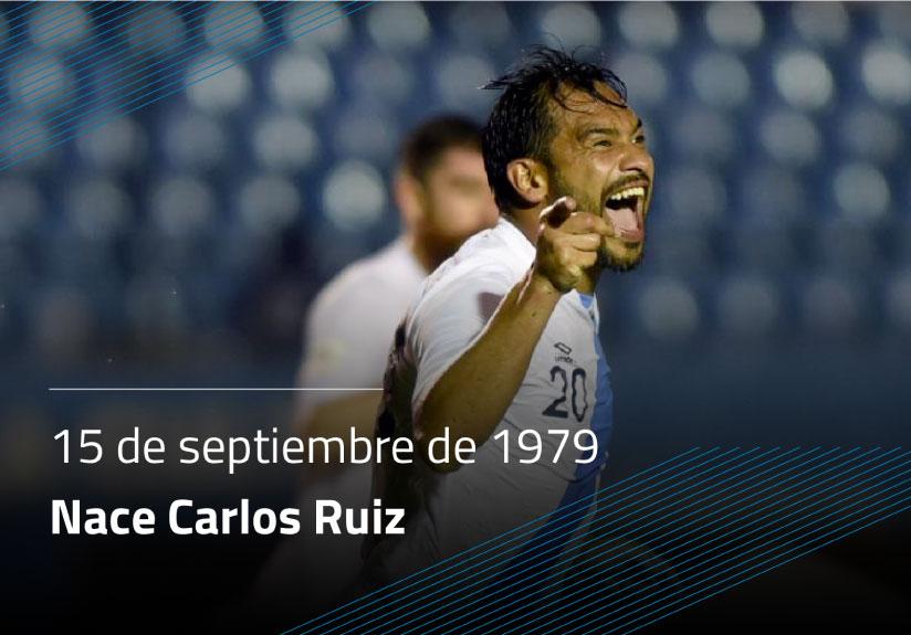 Nace Carlos Ruíz