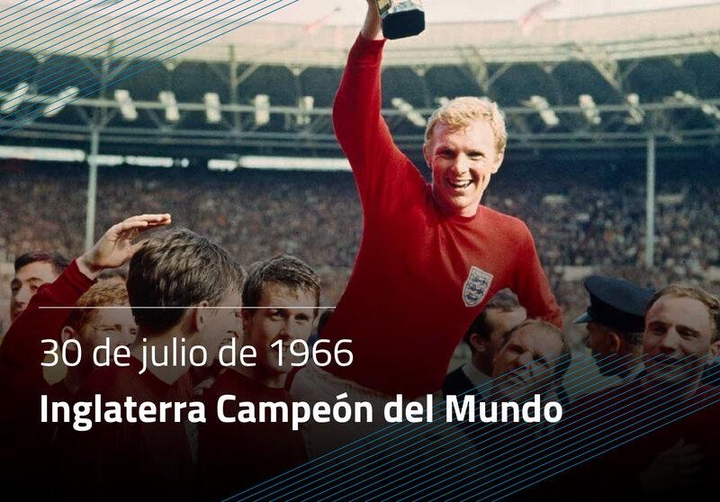 Inglaterra Campeón del Mundo