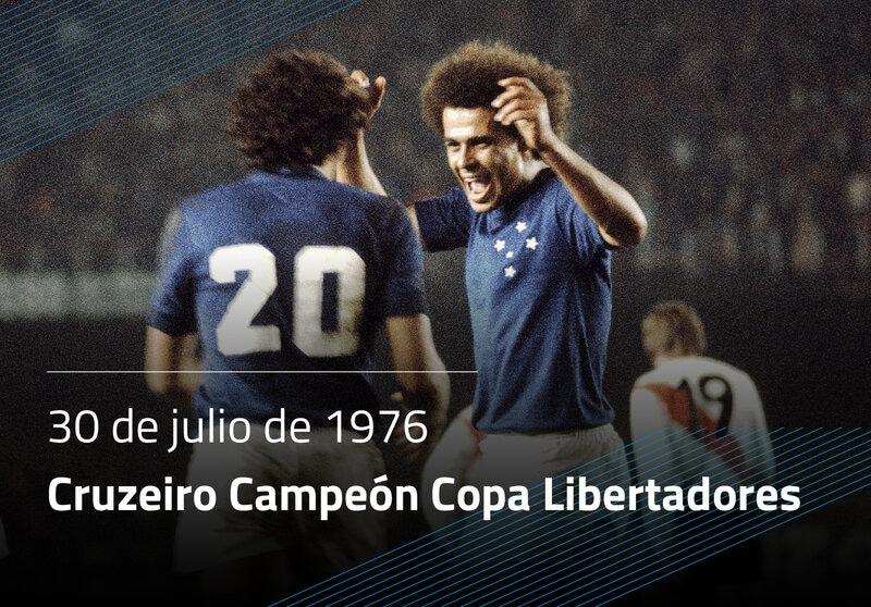 Cruzeiro Campeón Copa Libertadores
