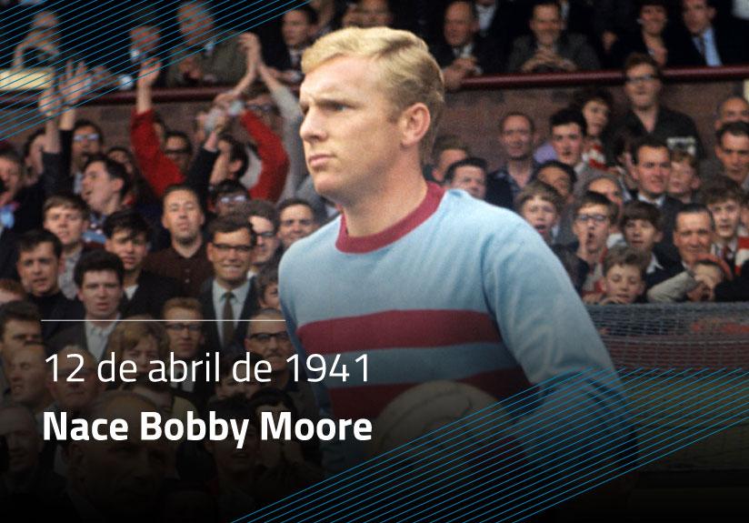 Nace Bobby Moore