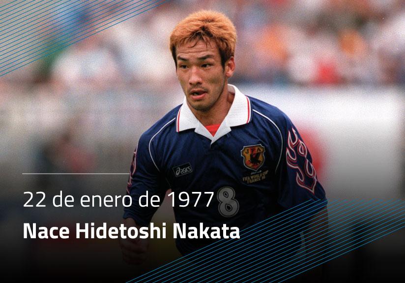 Nace Hidetoshi Nakata