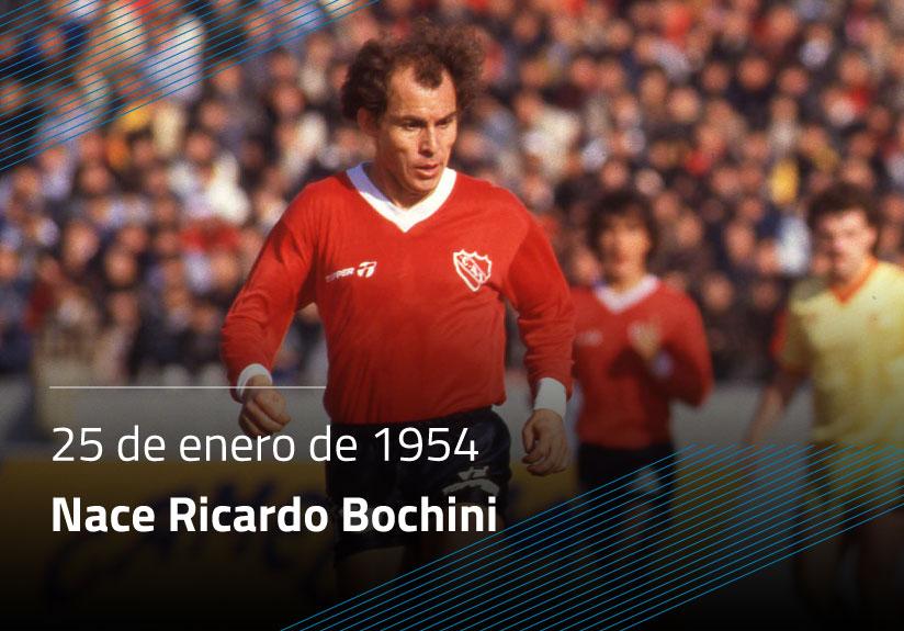 Nace Ricardo Bochini
