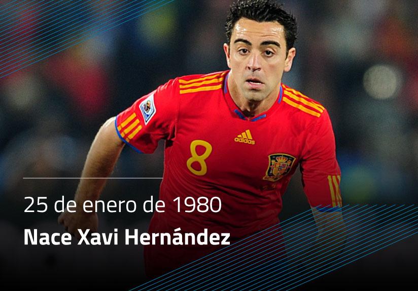 Nace Xavi Hernández
