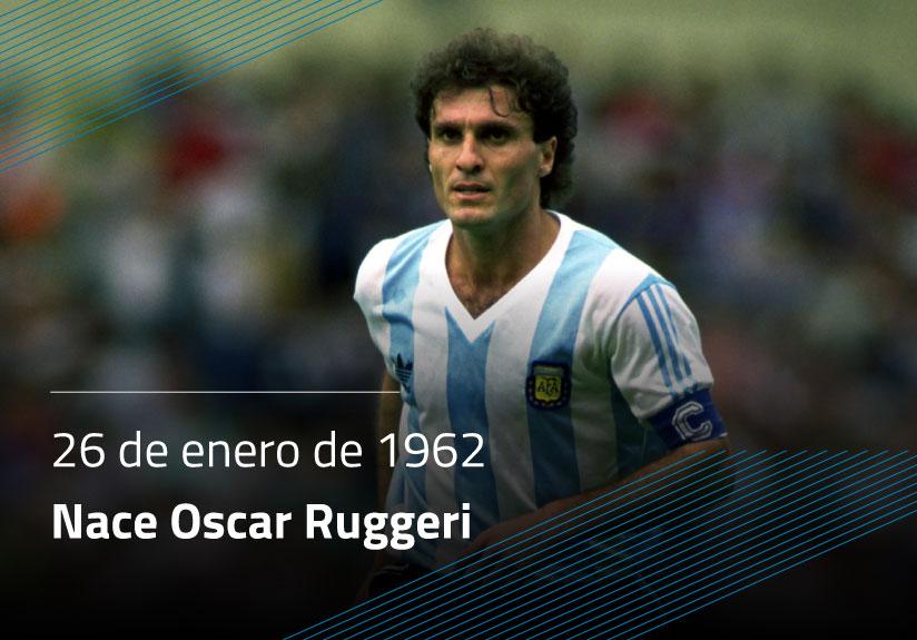 Nace Oscar Ruggeri