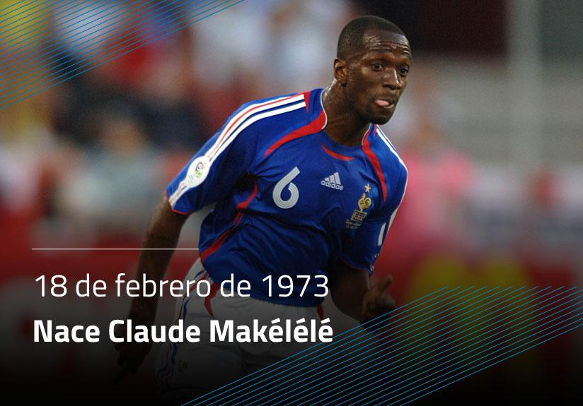 Nace Claude Makelele