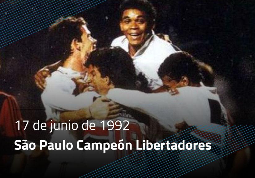 São Paulo Campeón de la Copa Libertadores