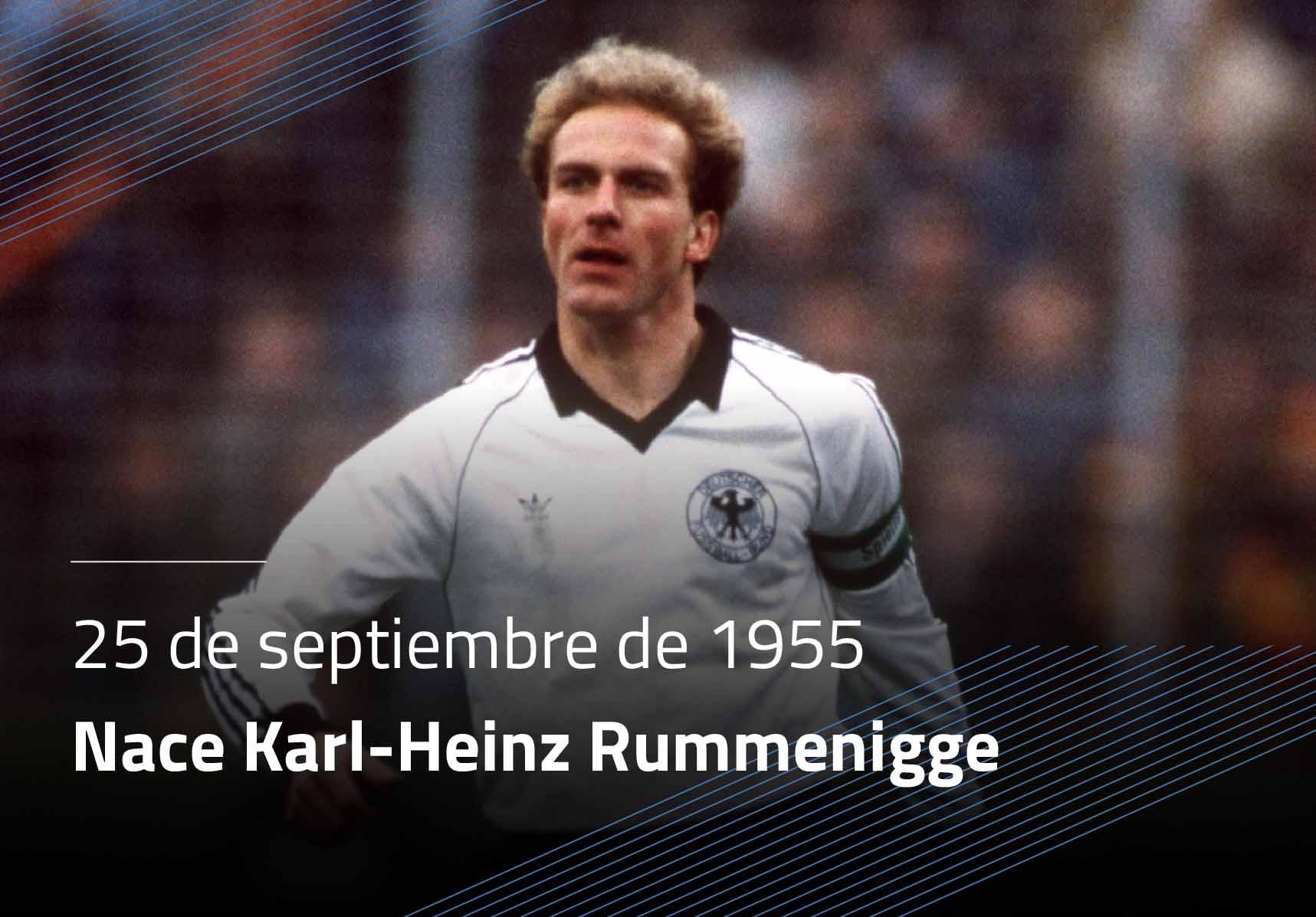 Nace Karl Heinz Rummenigge