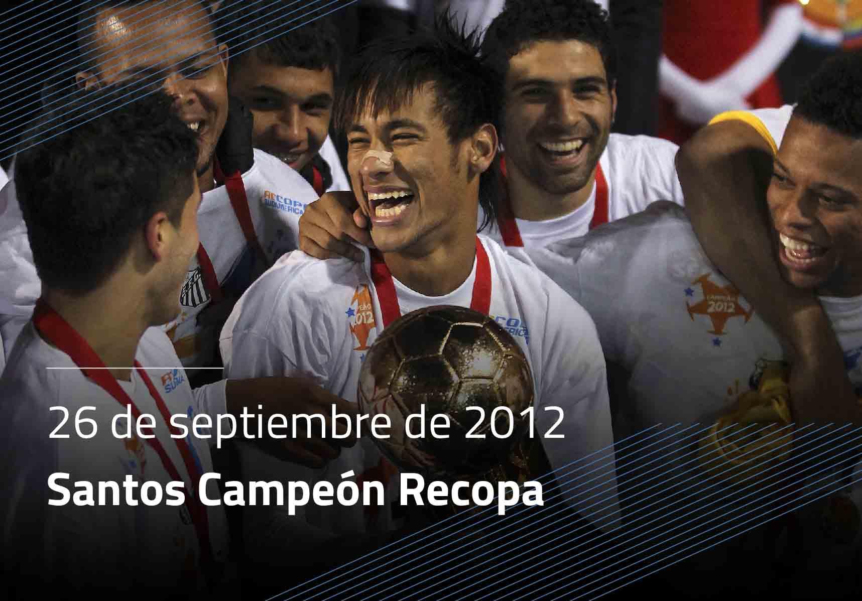 Santos Campeón Recopa
