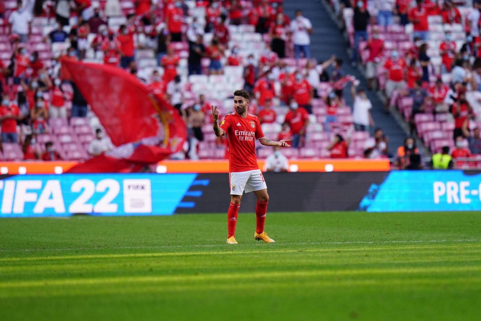 Benfica liquidó 5-0 a Santa Clara