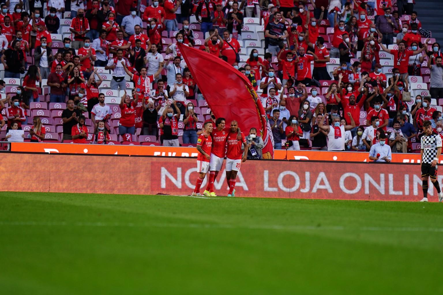Darwin Núñez marca un doblete en la victoria 3-1 de Benfica ante Boavista