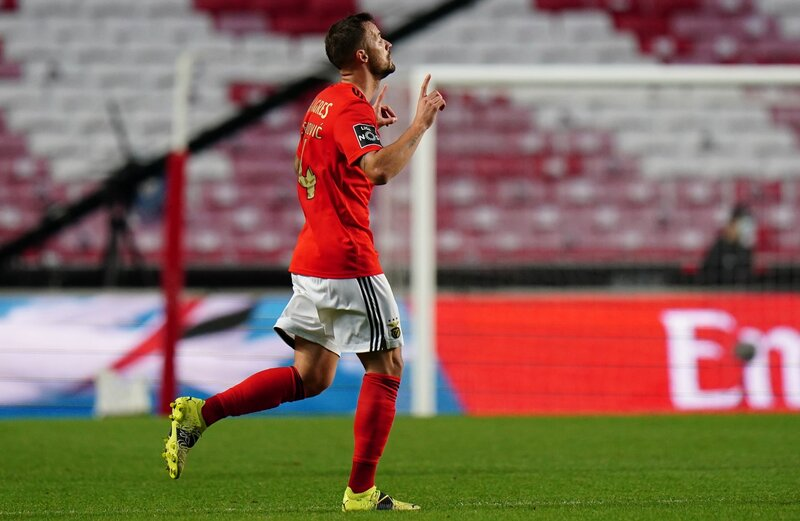 Con dos tantos, Benfica derrotó a SC Braga en su casa