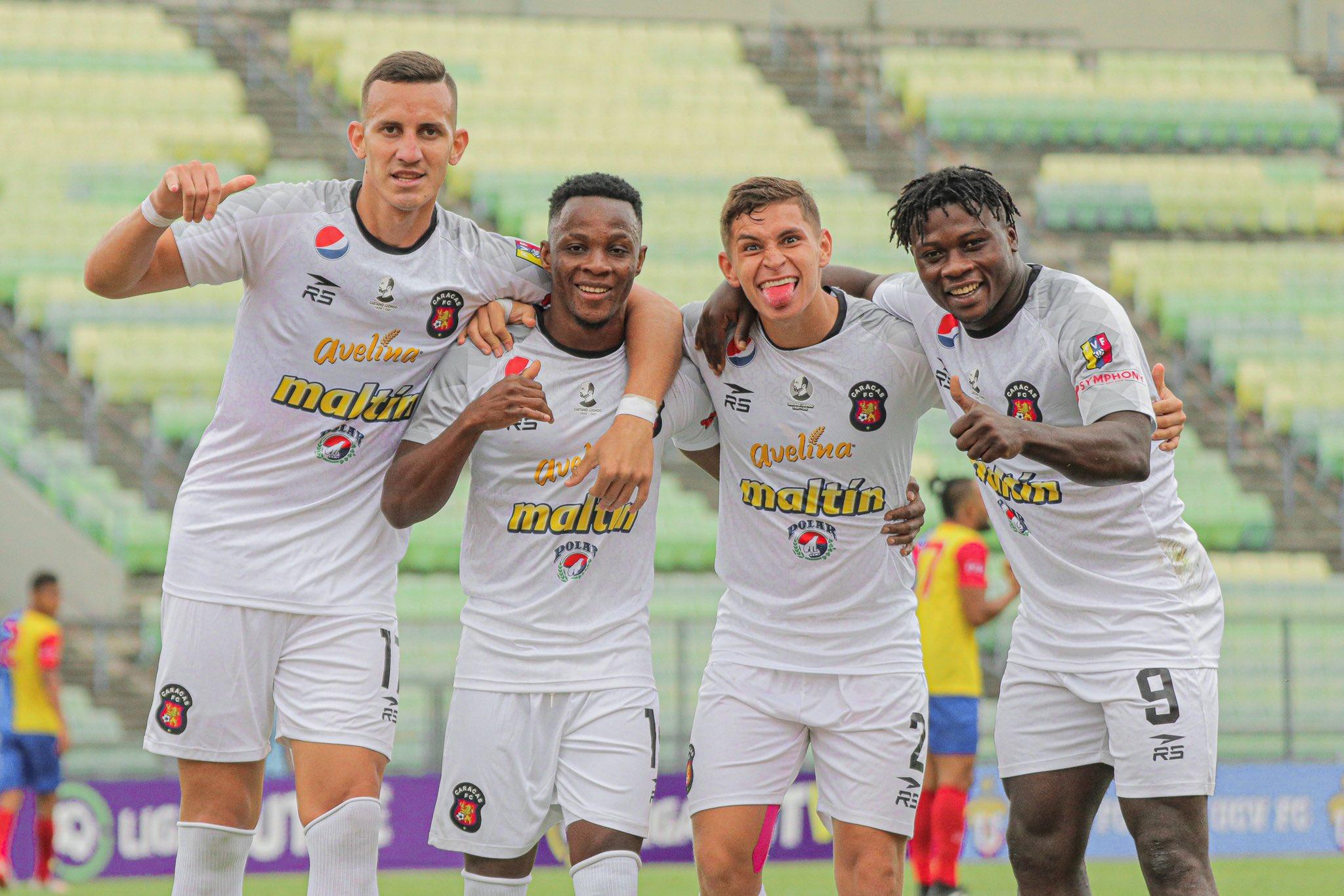 Luego de la Fecha 8 en la Liga FutVe, Caracas continúa siendo el líder en su grupo