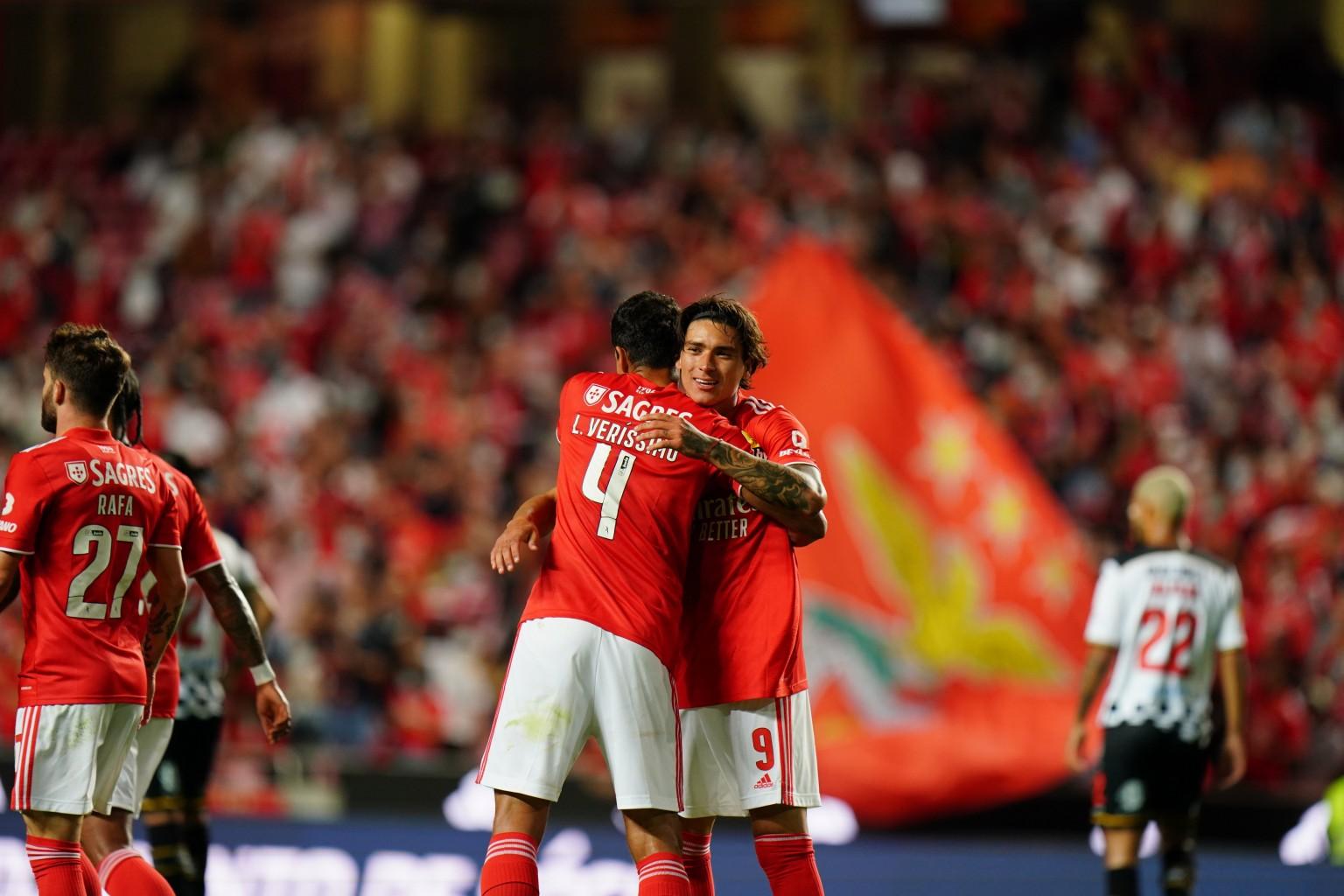 Benfica, el líder perfecto de la Primeira Liga