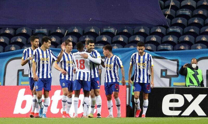 Goleada de Porto frente a Farense por la fecha 32