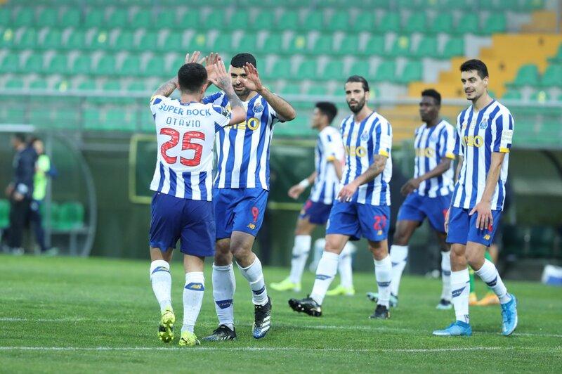 En Portugal, Porto se ubica a seis puntos del líder Sporting CP