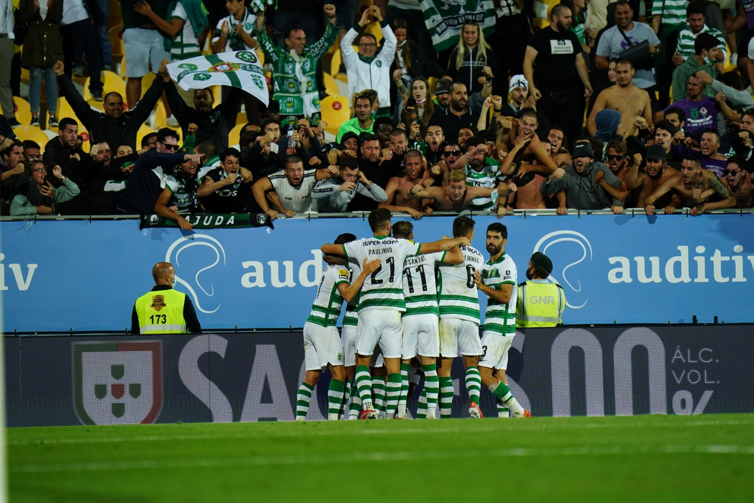 Sporting CP se quedó con la victoria ante Estoril