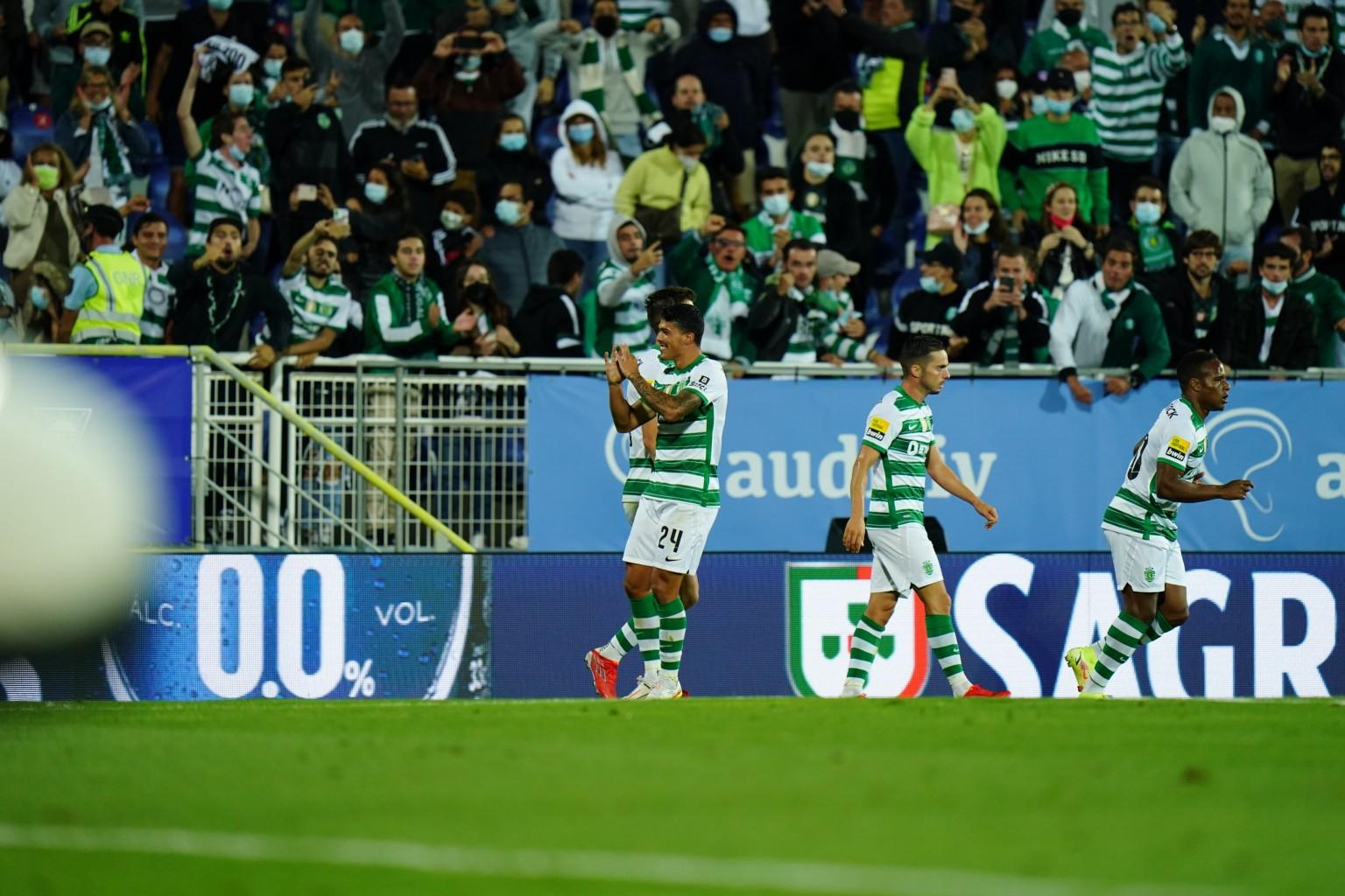 En su casa Sporting CP derrotó a Marítimo 1 a 0
