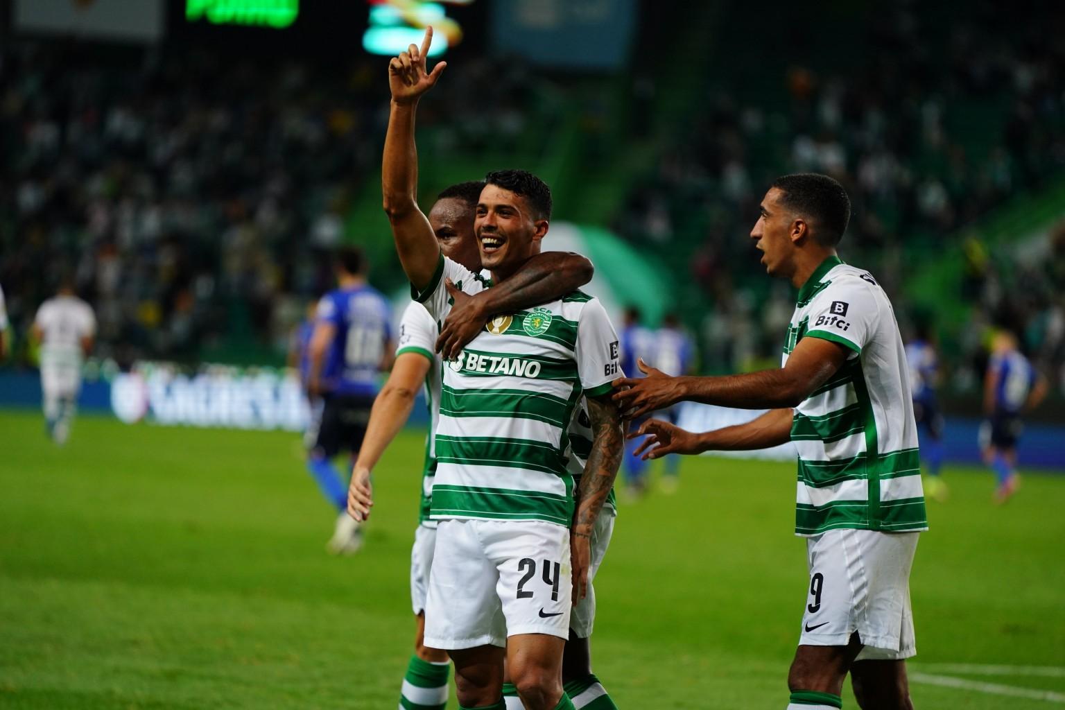 Sporting CP derrotó a Vitória Guimarães