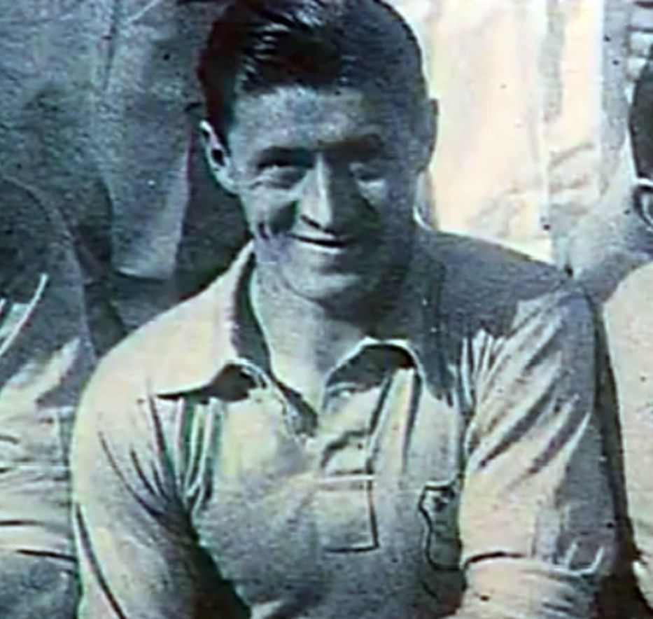 Lucien Laurent, autor de un gol histórico