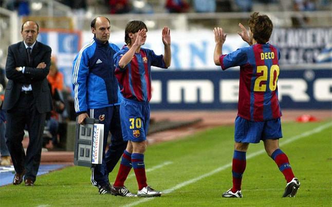 Messi, desde aquel lejano debut